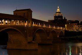 ponte coperto di pavia città dove opera la nostra web agency
