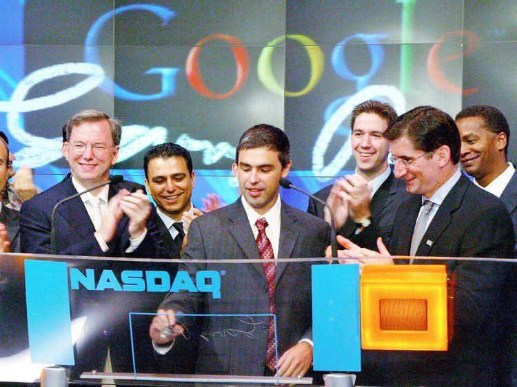 primo giorno di quotazione in borsa per google