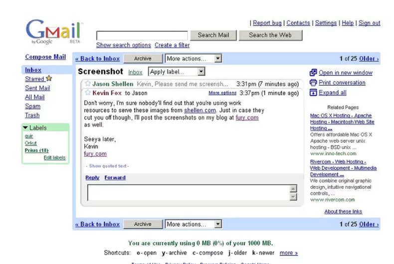 Gmail – La Mail Secondo Google